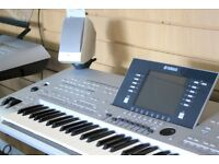 Preowned Yamaha Tyros 3 61 Note with MS02 Speakers - FREE UK DELIVERY - 1 YEAR WARRANTY