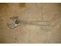 450mm Adjustable wrench