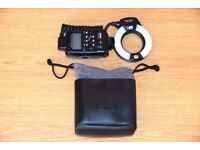 CANON MR-14EX MACRO RING FLASH LITE CAMERA SHOE MOUNT FLASHGUN LIGHT