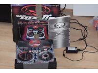 YAMAHA DJX11 DJ MIXER BOX/MANUEL/POWER CABLE CAN BE SEEN WORKING