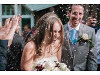 Wedding photography from £100 p/h