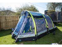 Airgo Cirrus 4 man Inflatable Tent + Porch