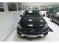 MERCEDES-BENZ M CLASS 2.1 ML250 CDI BlueTEC SE (Executive) 7G-Tronic Plus 4x4 5dr Auto (black) 2014