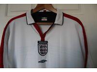ENGLAND FOOTBALL SHIRT 2003/2005