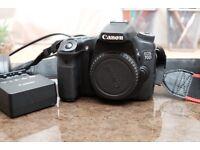 Canon 70d DSLR body
