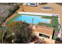 One bedroom holiday chalet. Sleeps 3. Swimming pool. Set in the Tabernas Desert, Almeria, Spain
