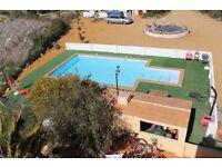 One bedroom holiday chalet. Sleeps 3. Swimming pool. Set in the Tabernas Desert, Almeria, Spain