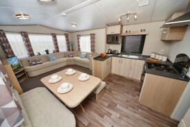 Brand new 2018 Carnaby Ashdale for sale at Percy Wood Country Park near Alnwick in Northumberland
