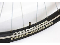 700C HYBRID ROAD BIKE WHEEL SET ALLOY RIMS