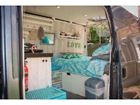 Ford Transit 53 - DIY Converted Campervan - Perfect for a young couple ready to travel!