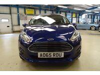 Ford Fiesta ZETEC (deep impact blue) 2015