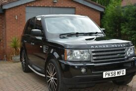 58 reg range rover sport in excellent condition