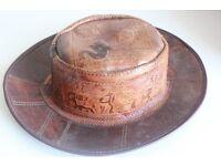 Sri Lankan - Leather hat