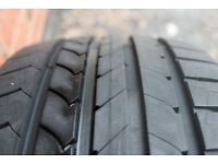 One ( 1 ) Good Year Efficient Grip Car Tyre Size: 205 45 16 83 W 6MM