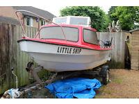 14' Dejon Fishing Day Boat