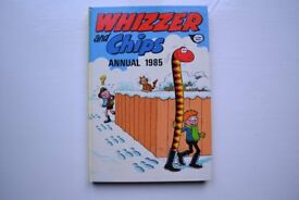 3 WHIZZER & CHIPS ANNUALS 1985,1986,1987