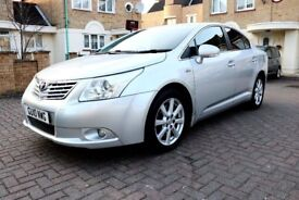 TOYOTA AVENSIS 2.2 D-CAT TR NAV [150] AUTOMATIC 4 DOOR SALOON HPI CLEAR 3 KEYS EXCELLENT CONDITION
