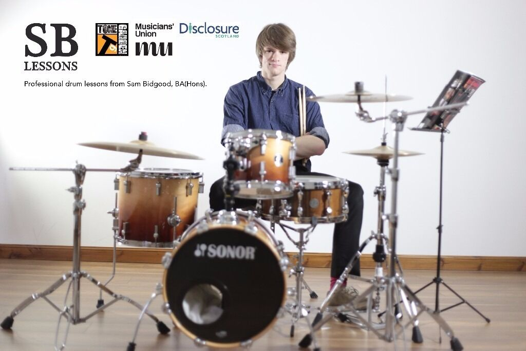 SB Lessons | Edinburgh Based Drum Tuition (20% off for new students!)