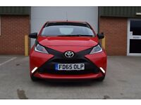 Toyota Aygo 1.0 VVT-i x 5dr £6,400 *3 YEAR WARRANTY £0 ROAD TAX*