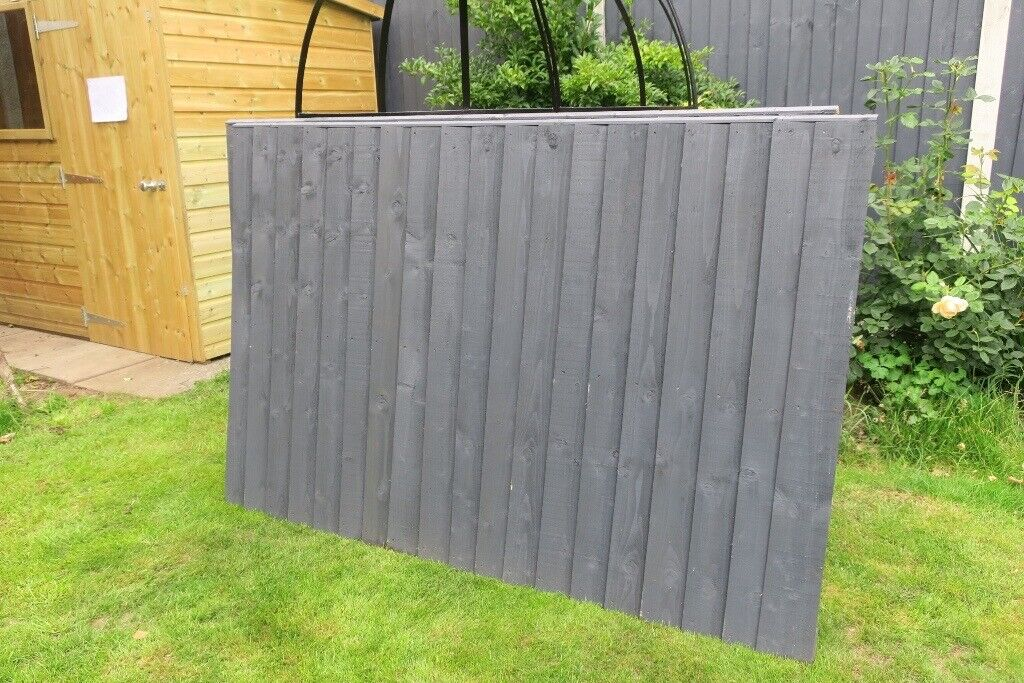2 Quality Nearly New 4 Foot Fence Panels For Sale In Shrewsbury Shropshire Gumtree