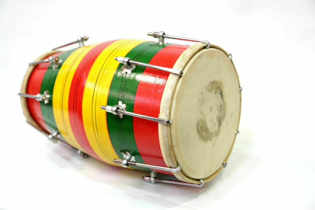 Wood Baby Dholak/Dholki Nut Bolt FAST Shipping In 24 Hrs, Item Located In USA - $46.49