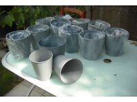 New Metal plant pot selection