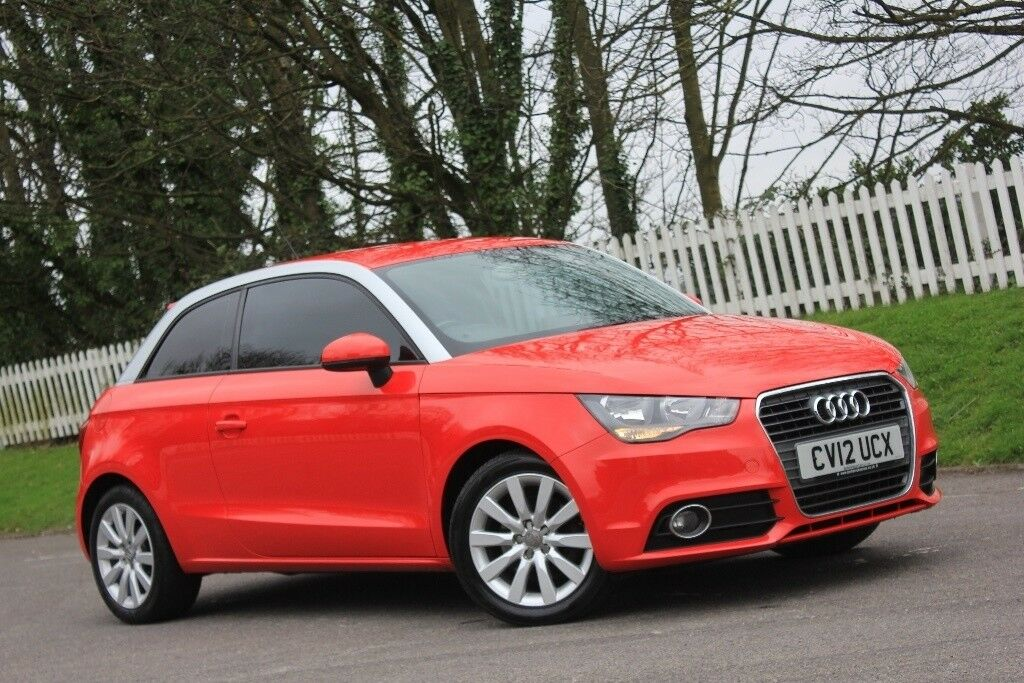 audi a1 1 4 tfsi sport 3dr red 2012 in vale of glamorgan gumtree. Black Bedroom Furniture Sets. Home Design Ideas