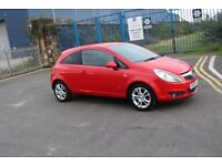 Vauxhall Corsa 1.2 petrol 16v SXi 3dr RED with 1 year mot