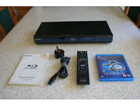 Sony BDP-S350 Blu-Ray Player + Gladiators Disc