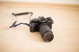 Minolta x-300s plus sunagor 80-200mm lenses