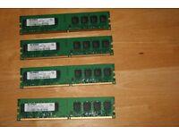 Elpida 1gb 2rx8 pc2-5300u-555 RAM