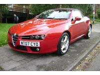 2007 07 ALFA ROMEO SPIDER 2.4 JTDM RED