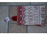 Christmas apron, Dunelm