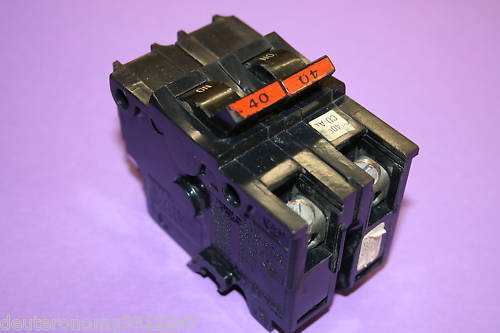 AMERICAN/FPE 40 AMP 2-POLE BREAKER TYPE NA