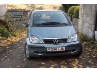 Mercedes A140 classic trim silver low milage good condition FSH