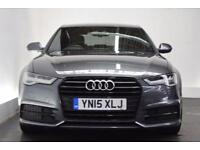 AUDI A6 SALOON 2.0 TDI ULTRA S LINE BLACK EDITION 4d AUTO 188 BHP (grey) 2015