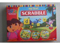 Brand new Dora the Explorer SCRABBLE