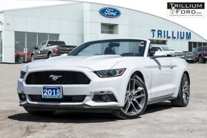2015 Ford Mustang 2.3L TURBO CONVERTIBLE PREMIUM WITH NAVIGATION