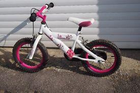 Girls 14inch avigo bike