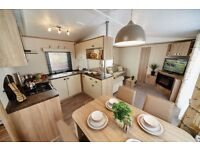 Rare Centre Lounge Static Caravan, Brand New, 5* Park, FREE SITE FEES, County Durham, Weardale