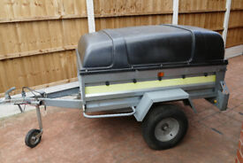 Covered Tipping Trailer