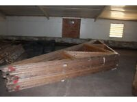 Roof trusses second hand 14No