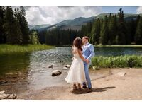 Wedding dress - vintage style size 12-14