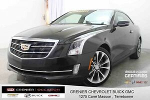 2015 Cadillac ATS COUPE AWD *GPS + CUIR + TOIT OUVRANT*