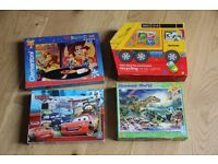 Bundle of age 4-5 Toy Jigsaws and board games, all complete and good condition, Toy Story, Dinosaurs