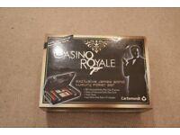 Casino Royal James Bond 007 Poker Set Rare Collector