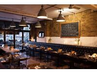 10 Greek Street, 8 Hoxton Square & The Whitechapel Refectory looking for waiting staff