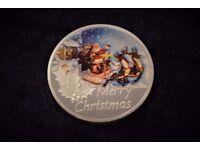 Silver Merry Christmas Coin