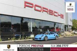2016 Porsche 911 GT3 RS Car is a full wrap in Miami Bleu super w