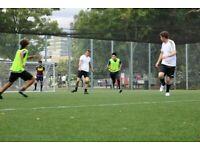 Players wanted (Highbury & Islington football games on Mondays)